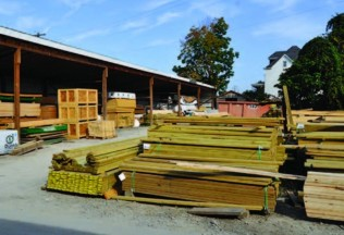 Scottdale Lumber Yard